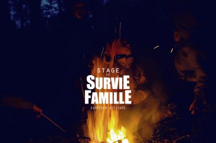 Stage de survie famille enfants