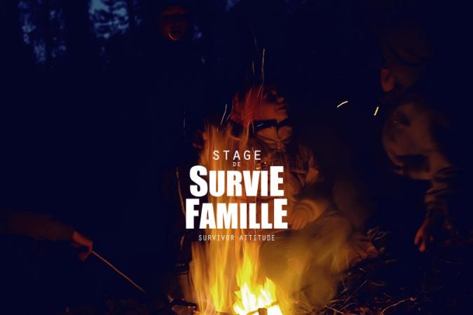 Stage de survie famille enfants surivor attitude