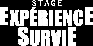Stage expérience survie logo survivor attitude