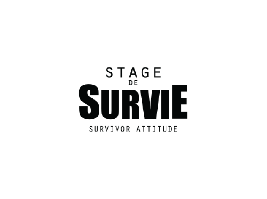 Stage de survie logo survivor attitude