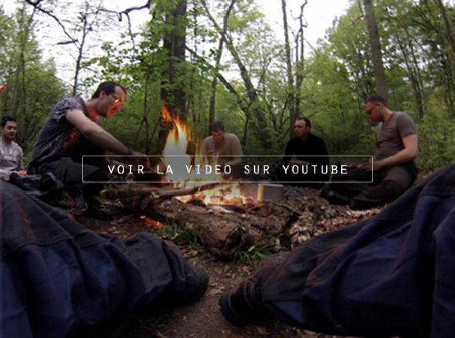 Cliquez pour la video stage de survie sur youtube