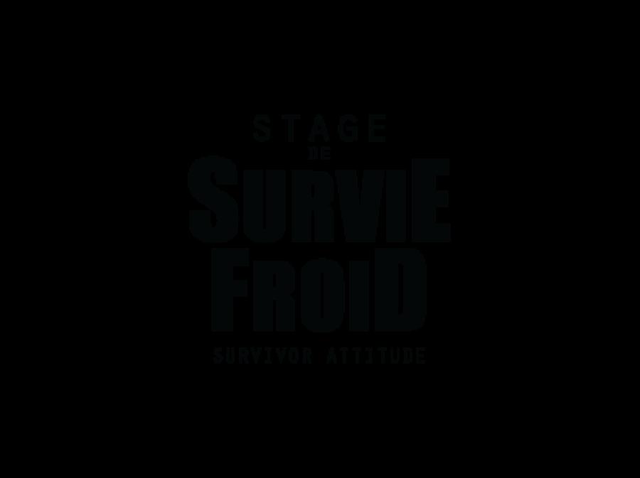 Stage de survie froid logo survivor attitude