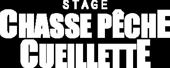 Stage chasse pêche cueillette logo survivor attitude