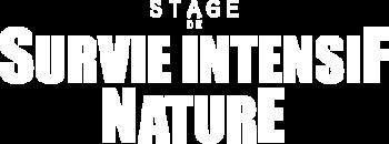 Stage de survie intensif nature logo survivor attitude
